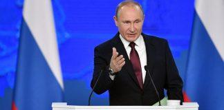 Путин, реч