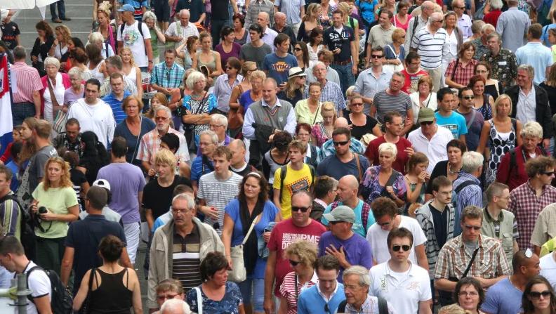 хора, население