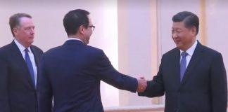 Си Дзинпин, Стивън Мнучин