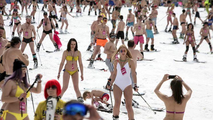 ски, бански, Сочи, Русия