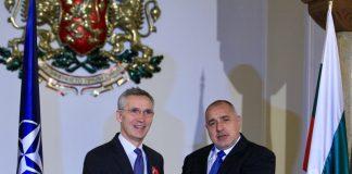 Йенс Столтенберг, Бойко Борисов