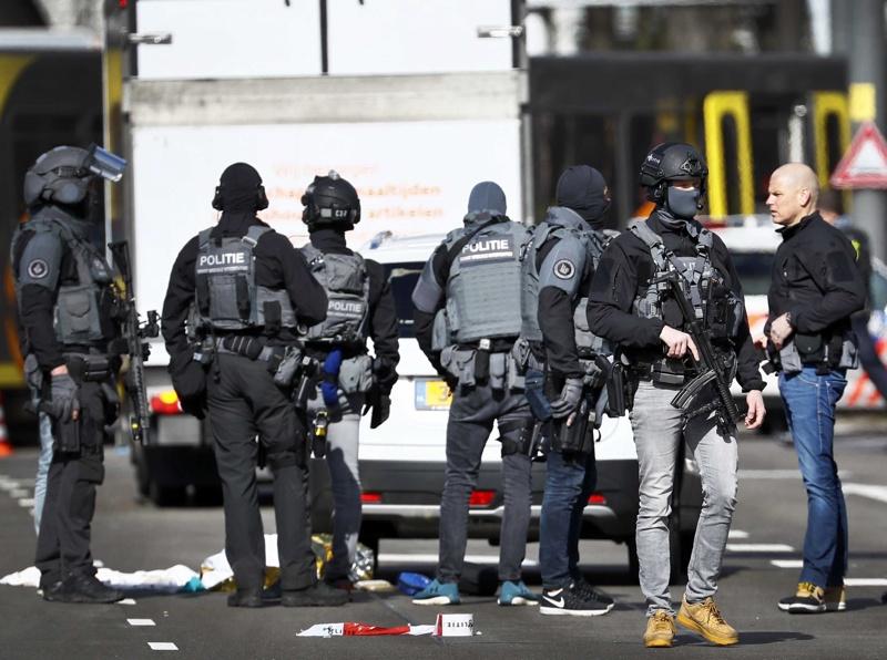 Резултат с изображение за Стрелба в Утрехт