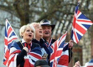Брекзит, протест