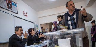 Турция, гласуване