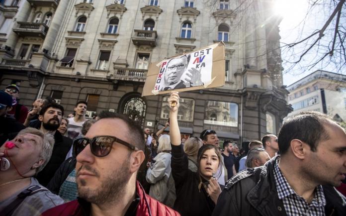 Белград, протести