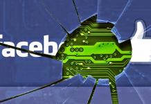 Фейсбук, срив