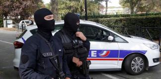 Франция, полиция, терорист