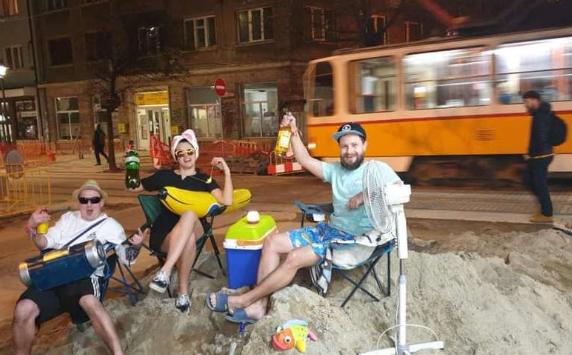 Графа, плаж, зевзеци