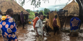 Мозамбик, циклон