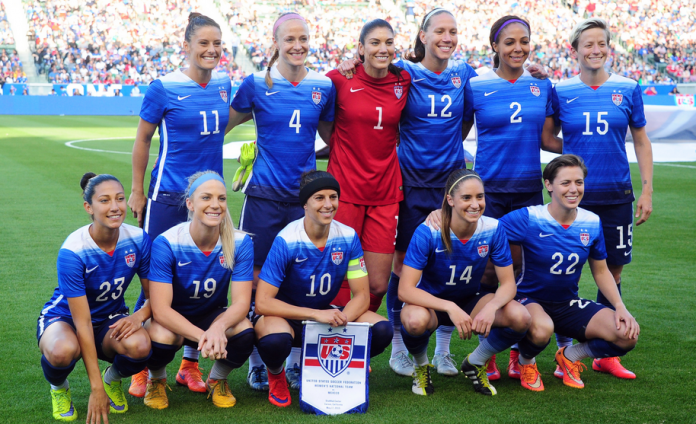 САЩ, национален отбор за жени
