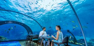 подводен ресторант