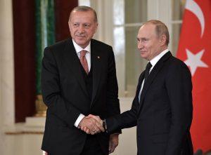 Реджеп Ердоган, Владимир Путин