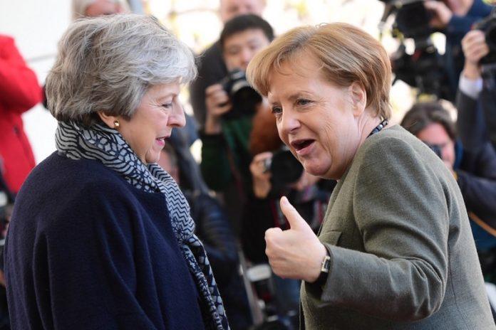 Брекзит, Мей, Меркел