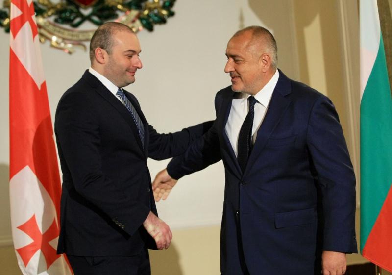 Мамука Бахтадзе и Бойко Борисов