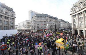 екоактивисти, протест