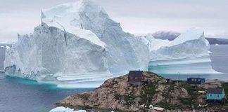 Гренландия, лед
