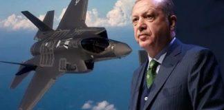 Ердоган, Ф-35