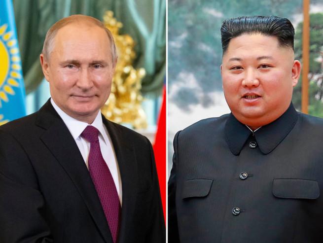 Владимир Путин, Ким Чен-Ун