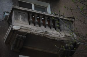 фасада, рухване