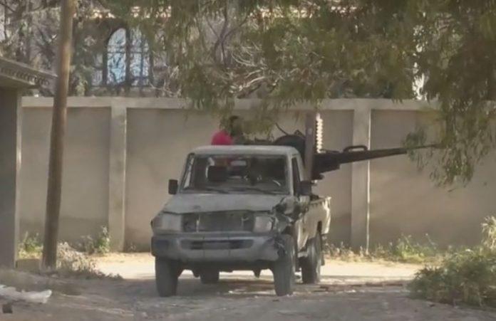 Либия, сражения