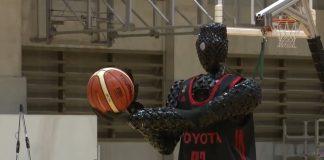 баскетболен робот