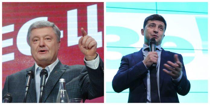 Петро Порошенко, Владимир Зеленски