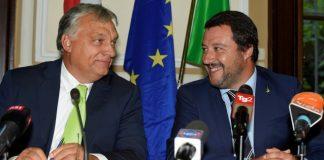 Матео Салвини, Виктор Орбан