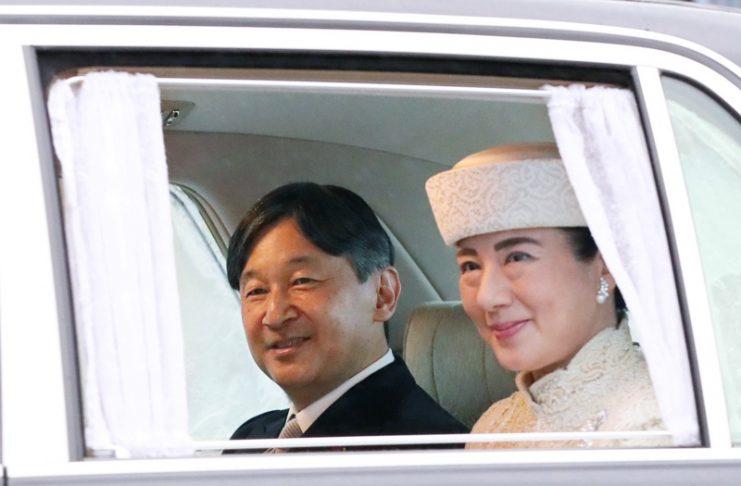 Япония, император, абдикация, церемония
