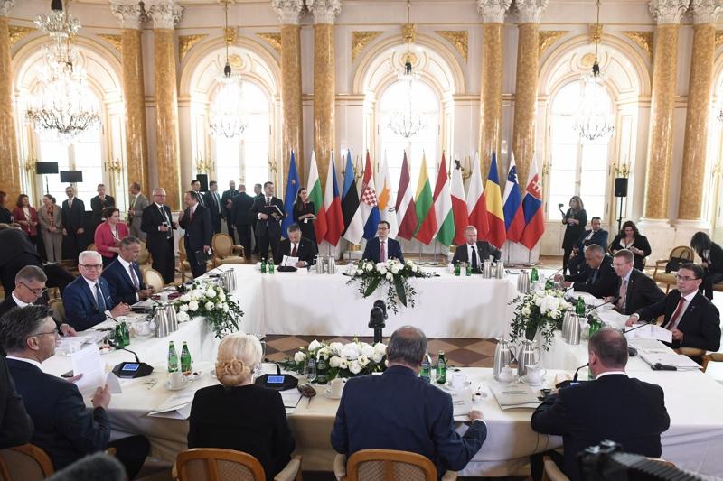 Варшава, среща, ЕС