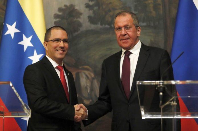 Хорхе Ареаза, Сергей Лавров, Венецуела, Русия