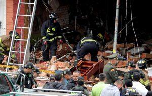 Богота, взрив