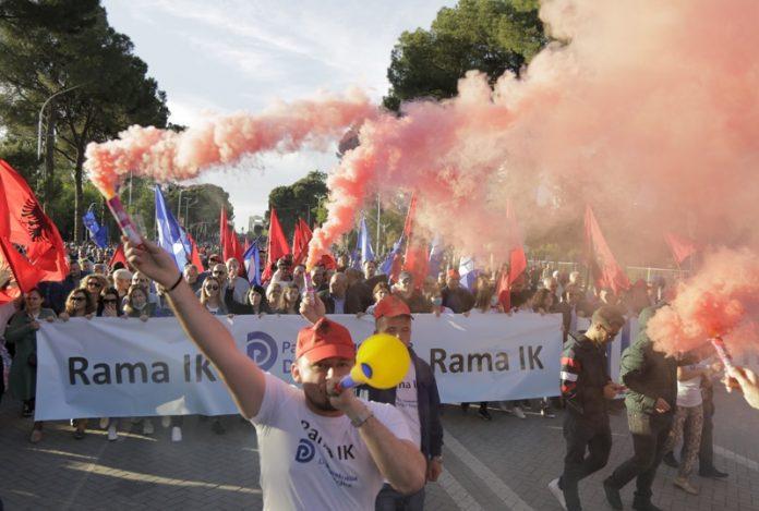 Албания, протест