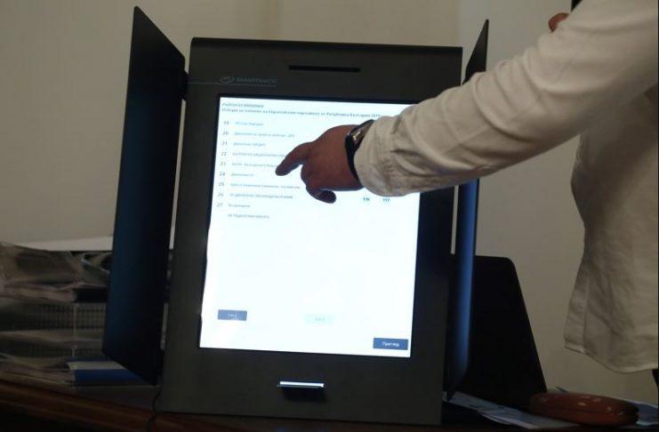 машини, гласуване
