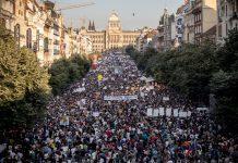 протест в прага