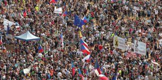 протест, Прага, Чехия, Андрей Бабиш