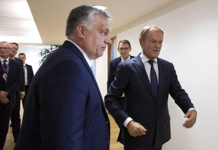 Туск, Орбан
