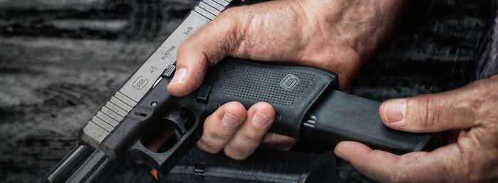 пистолет, зареждане, стрелба