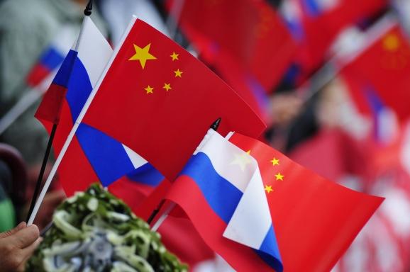 Русия, Китай