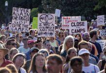 протест, имиграционни служби, САЩ