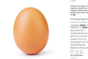 яйце, инстаграм