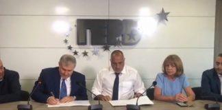 ГЕРБ и СДС сключиха споразумение
