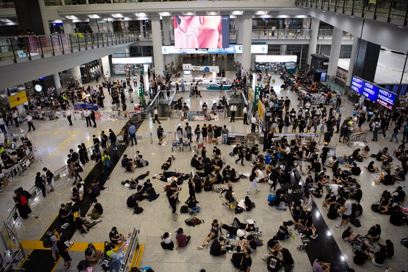 Хонг Конг, летище