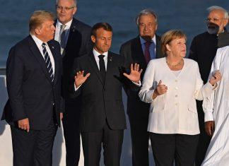 Среща на световните лидери от Г7 в снимки