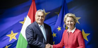 Орбан и Фон дер Лайен