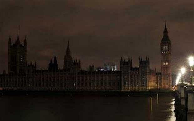 Великобритания, ток, криза
