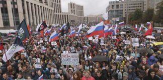 протест, Москва