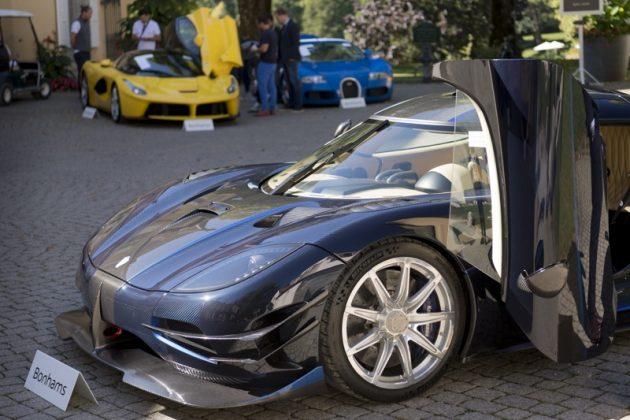 луксозни коли, търг