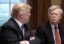 Тръмп и болтън вече са в конфликт