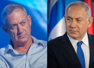 Бени Ганц, Бенямин Нетаняху