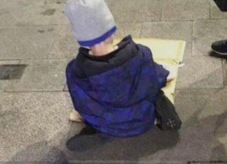 момче, бездомно